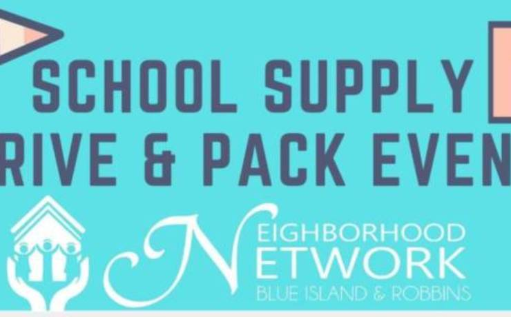 School Supply Drive and Pack Event
